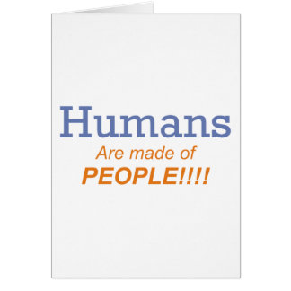 Humans / People Card