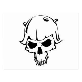 HumanSkull Tarjeta Postal