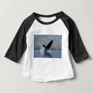 humback whale breaching baby T-Shirt