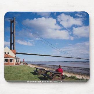 Humber Bridge from north shore U K Mouse Pad