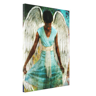 Humble Angel Canvas Print