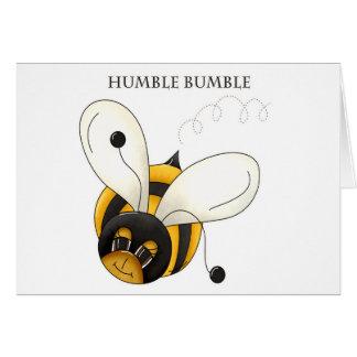 Humble Bumble Card