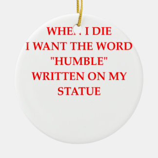 humble ceramic ornament
