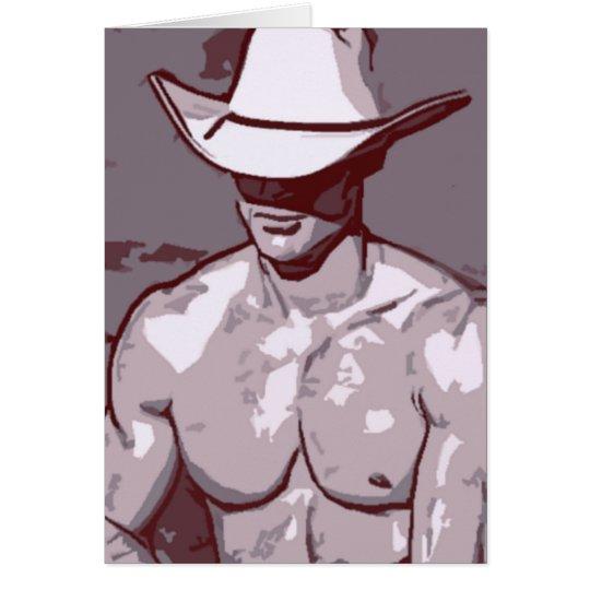 Humble Cowboy Card