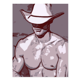 Humble Cowboy Postcard