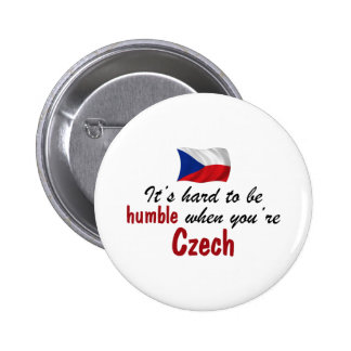 Humble Czech 2 Inch Round Button