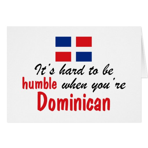 Humble Dominican Greeting Cards