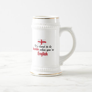 Humble English Beer Stein