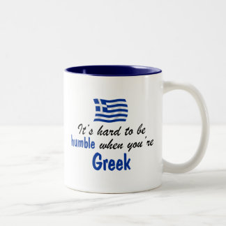 Humble Greek Two-Tone Coffee Mug