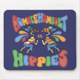 Humble Humbolt Hippies Mouse Pad