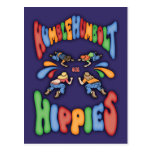 Humble Humbolt Hippies Postcard