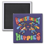 Humble Humbolt Hippies Refrigerator Magnet