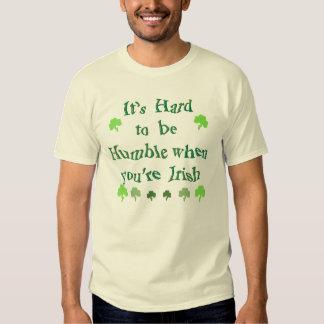 Humble Irish joke teeshirt Tees
