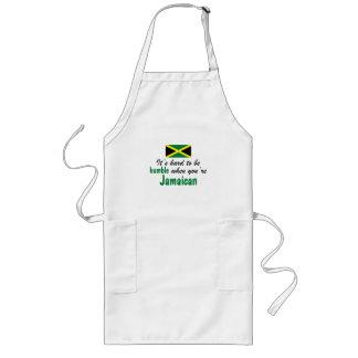 Humble Jamaican Long Apron