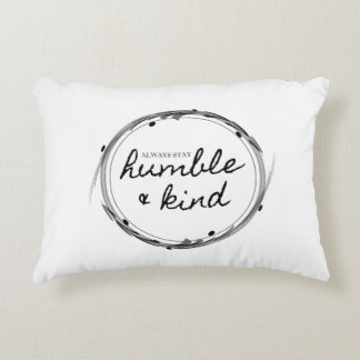 Humble & Kind Accent Pillow