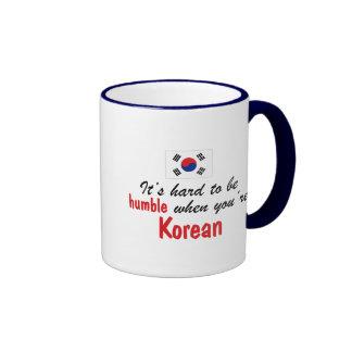 Humble Korean Ringer Mug