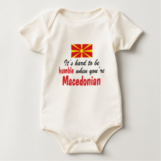 Humble Macedonian Baby Bodysuit