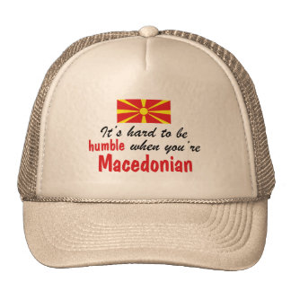 Humble Macedonian Trucker Hat
