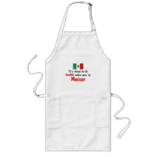 Humble Mexican Long Apron