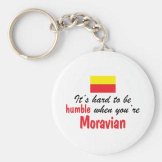 Humble Moravian Key Chain