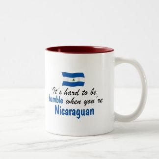 Humble Nicaraguan Two-Tone Coffee Mug