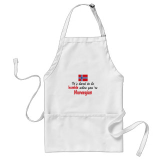 Humble Norwegian Adult Apron
