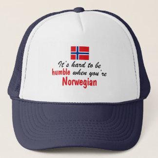 Humble Norwegian Trucker Hat