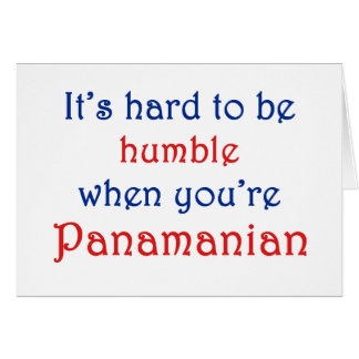 Humble Panamanian Card