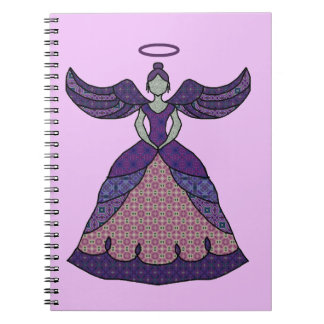 Humble Patchwork Angel Notebook