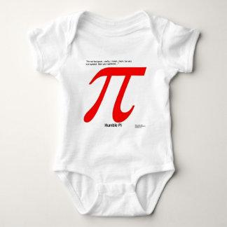 Humble Pi R Square Funny Baby Bodysuit