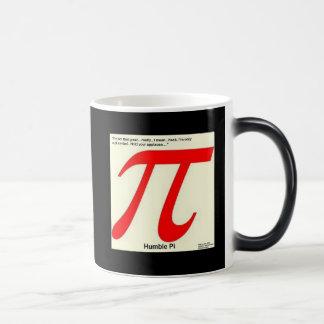 Humble Pi R Square Funny Magic Mug
