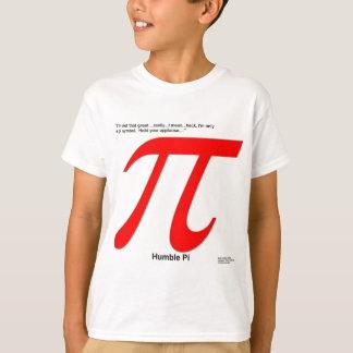 Humble Pi R Square Funny T-Shirt