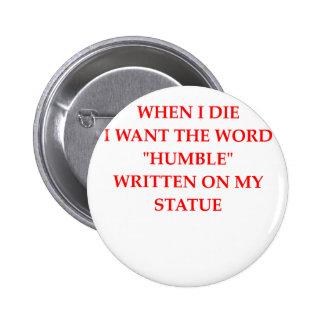 humble pinback button