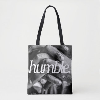 humble. Religious Design 2 Side Print Tote Bag
