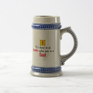 Humble Scot Beer Stein