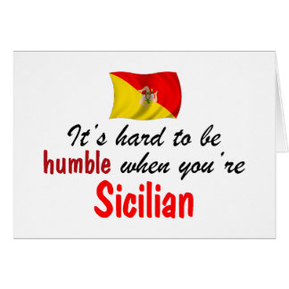 Humble Sicilian Card