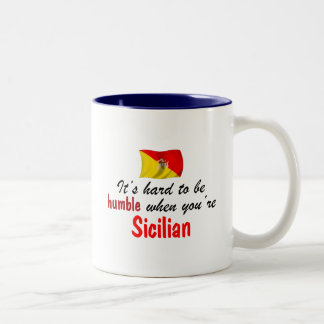 Humble Sicilian Two-Tone Coffee Mug