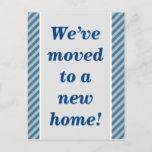 [ Thumbnail: Humble, Simple, New Home Postcard ]