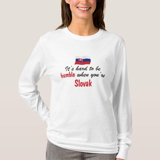 Humble Slovak T-Shirt