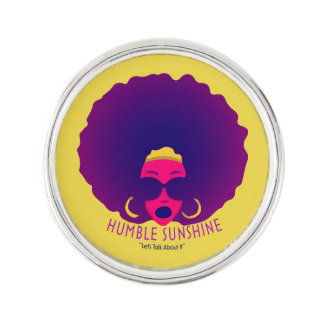 Humble Sunshine Lapel Pin
