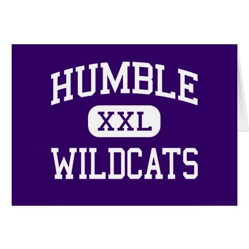 Humble - Wildcats - High School - Humble Texas Cards