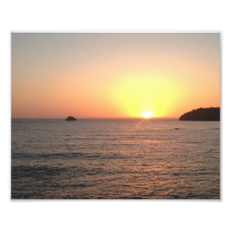 Humboldt County California Ocean Sunset Photo Print