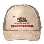 Humboldt county california trucker hat