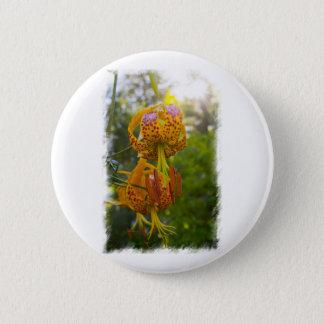 Humboldt Lilies Sunburst Button
