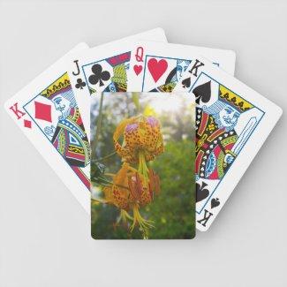 Humboldt Lilies Sunburst Card Decks
