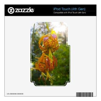 Humboldt Lilies Sunburst Ipod Touch 4g Skin