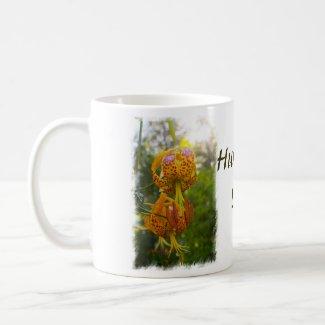Humboldt Lilies Sunburst Mugs