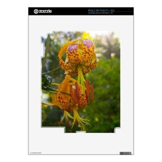 Humboldt Lilies Sunburst Skins For The Ipad 2