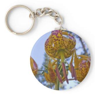 Humboldt Lily Keychain