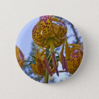Humboldt Lily Pinback Button
